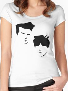 Morrissey and Johnny Marr, The Smiths Women's Fitted Scoop T-Shirt