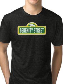 SHINY PLACE Tri-blend T-Shirt