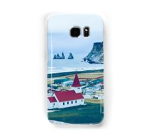 Town of Vík, Iceland  Samsung Galaxy Case/Skin