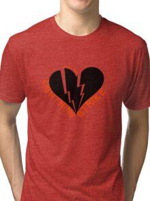 Feel The Lightning (Black) Tri-blend T-Shirt