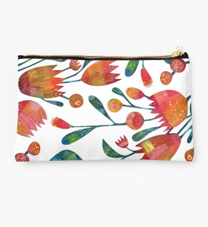 Buds and Flowers Studio Pouch