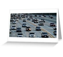 The Rush Hour Greeting Card