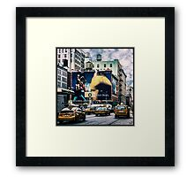 Lafayette and Houston, NYC Framed Print