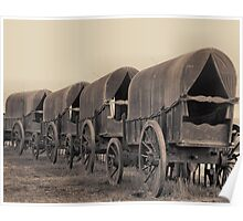 Wagons of Yesteryear Poster