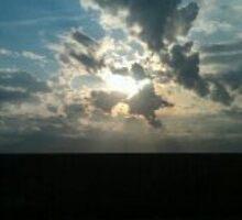 Sunset in Saskatchewan by Debbi Bigsky