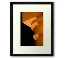 Column's Profile Framed Print
