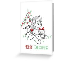 Christmas Fairy Greeting Card