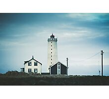 Grotta Lighthouse Photographic Print
