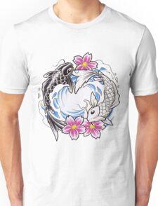 Yin Yang Chinese Koi Fish T-Shirt Unisex T-Shirt