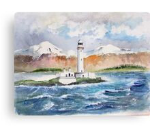 LISMORE LIGHTHOUSE - NW Scotland Canvas Print