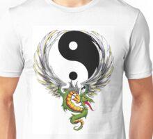 Yin Yang Dragon T-Shirt Unisex T-Shirt