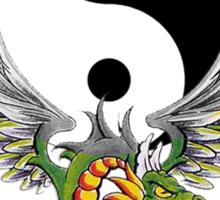Yin Yang Dragon T-Shirt Sticker
