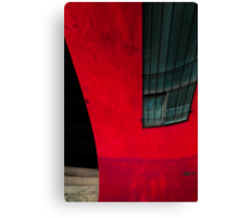 Red building Canvas Print