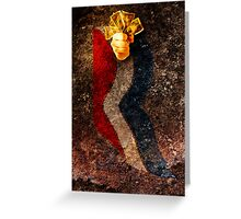 Believe in America. Sign of the times. Greeting Card