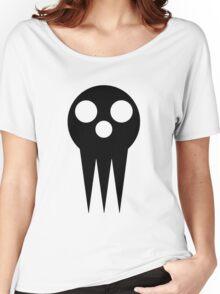Soul Eater Skull - Black Women's Relaxed Fit T-Shirt