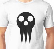 Soul Eater Skull - Black Unisex T-Shirt