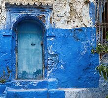 Blue city Chefchaouen, Morocco. by cloud7