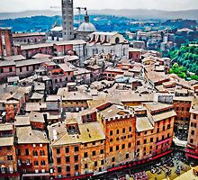 Historic Siena by Lynnette Peizer