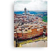 Historic Siena Canvas Print