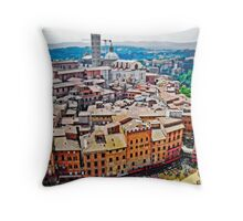 Historic Siena Throw Pillow