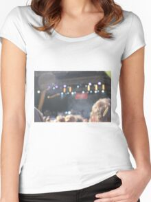 You Me at Six Gig Women's Fitted Scoop T-Shirt