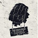 The Ned's Head (Black - iPhone Case) by Malc Foy
