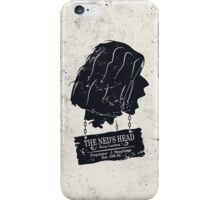 The Ned's Head (Black - iPhone Case) iPhone Case/Skin