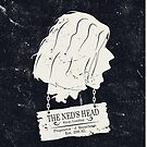 The Ned's Head (White - iPhone Case) by maclac