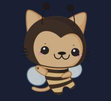 Bee Cat Kids Tee