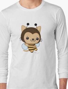 Bee Cat Long Sleeve T-Shirt