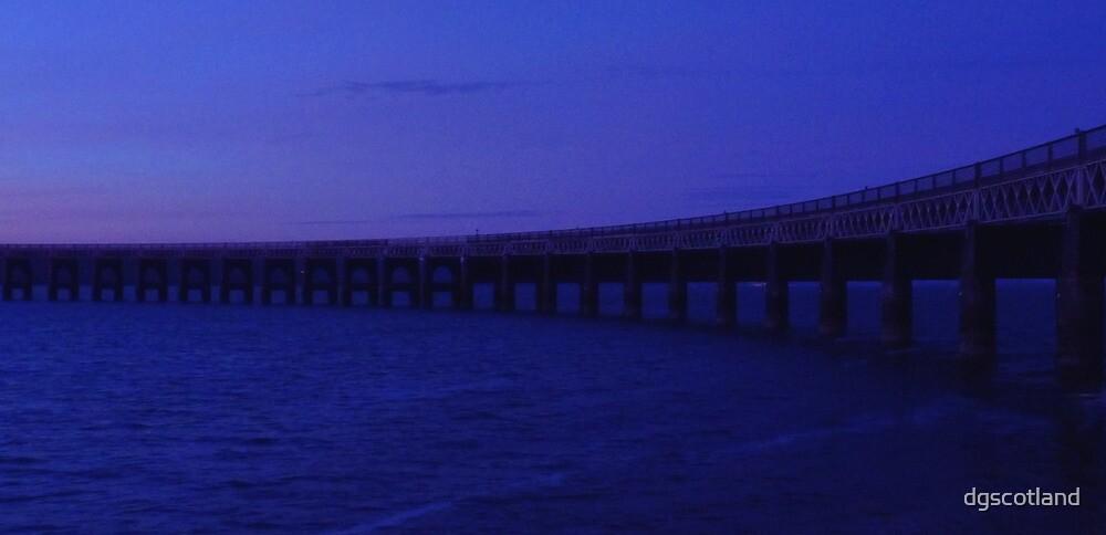 Blue Bridge by dgscotland