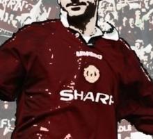 Eric Cantona - The King Sticker