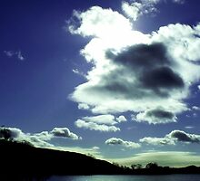 Clouds over Coniston Water by Chris Pilcher
