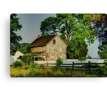 BATTLEFIELD HOUSE Canvas Print