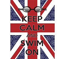 Swim London Photographic Print