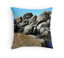 """Rocks, Rocks and More Rocks"" Throw Pillow"