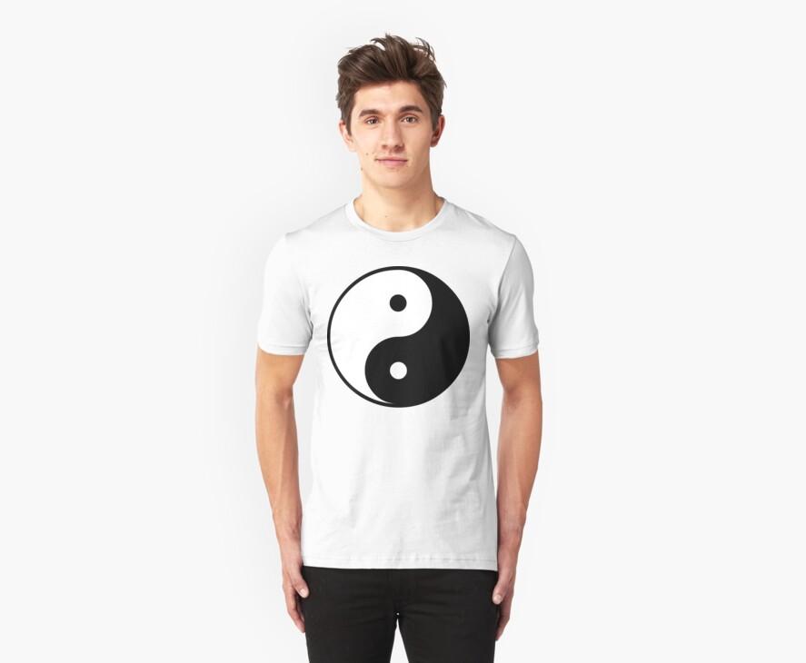 Yin Yang T-Shirt by AsianT-Shirts