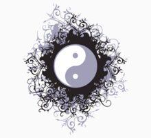 Yin Yang T-Shirt Baby Tee