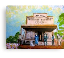 The Morawa-Merkanooka Co-op Store Canvas Print