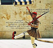 Greek guards, Athens.........! by Roy  Massicks