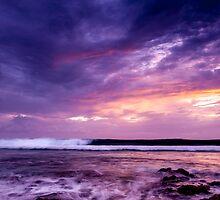 Sunset in Purple by Karen Willshaw