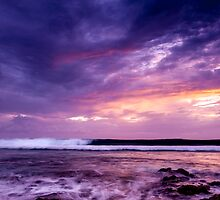 Sunset in Purple by Karen Willshaw