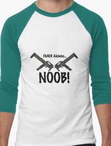 FMG9 Akimbo... NOOB! Men's Baseball ¾ T-Shirt