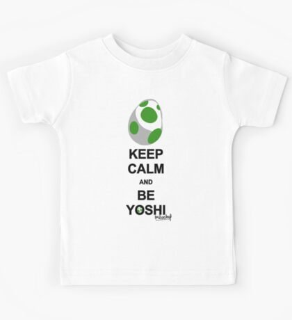 Keep calm and be Yoshi Kids Clothes