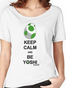 Keep calm and be Yoshi Women's Relaxed Fit T-Shirt