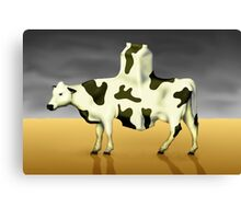 SURREALISM - Cow Product  Canvas Print