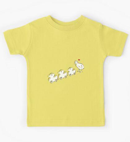 Ducky In Love Kids Tee