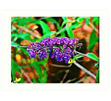 Come Little Butterfly Art Print