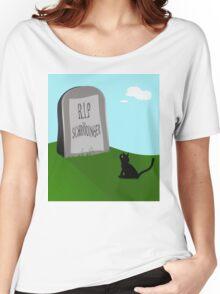 Schrödinger's cat 1 - Schrödinger 0 Women's Relaxed Fit T-Shirt