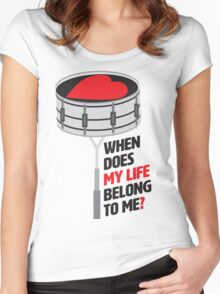 The eternal question Women's Fitted Scoop T-Shirt
